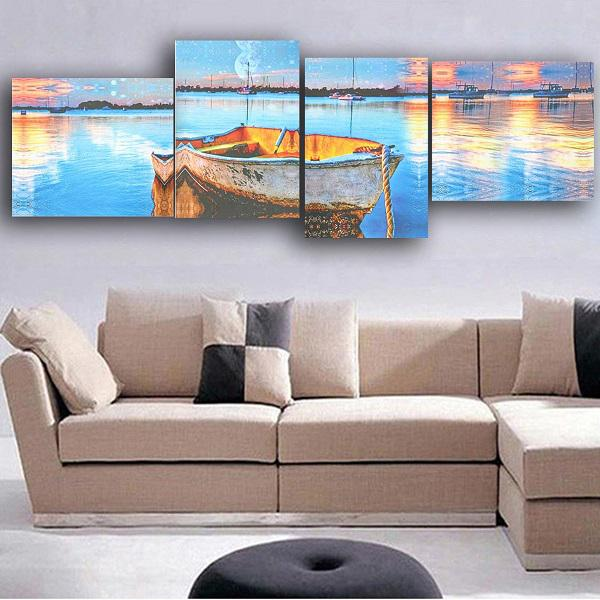Huge mordern abstract wall decor art oil pinting on canvas
