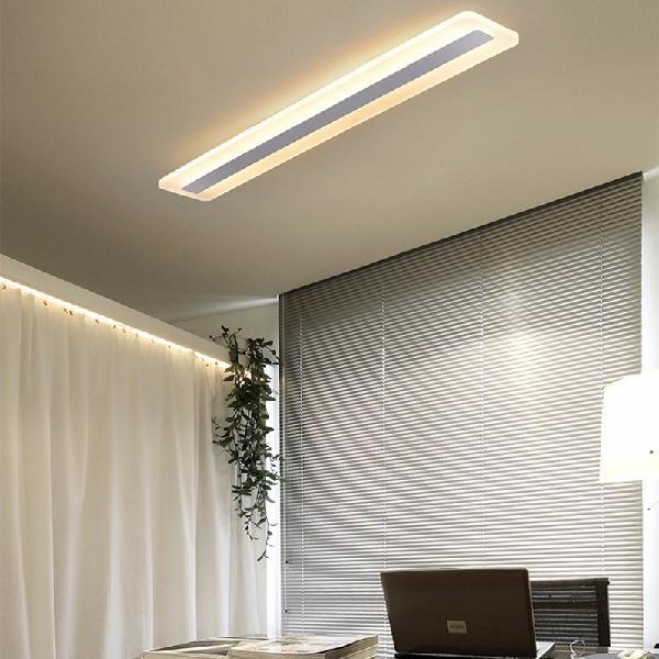 Living room lamp rectangular simple modern atmosphere