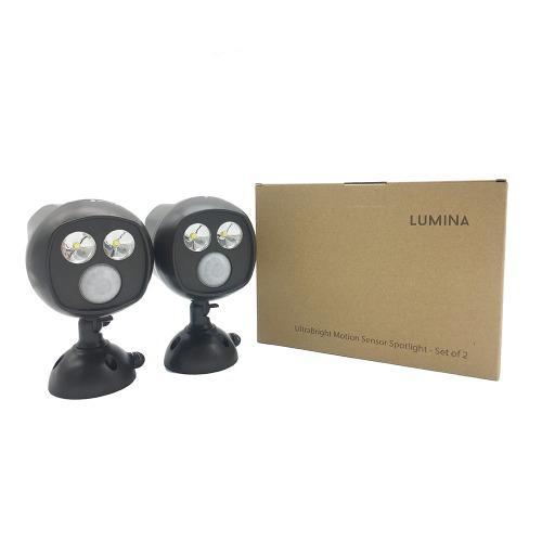 Lumina ultra bright motion sensor security spot light