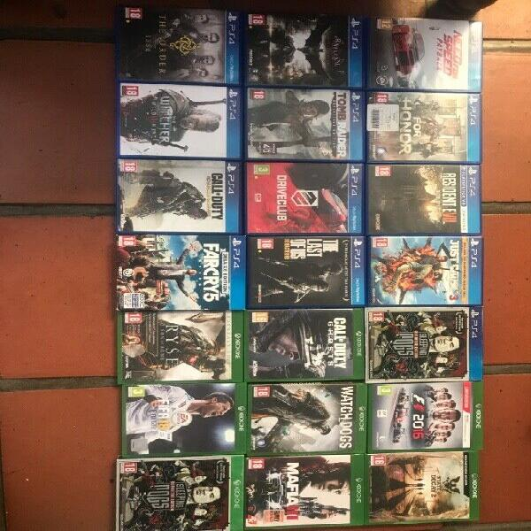 Ps4/xbox one games for sale or trade