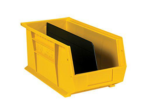 """Retailsource 15 3/4"""" x 7 3/4"""" stack and hang bin dividers"""