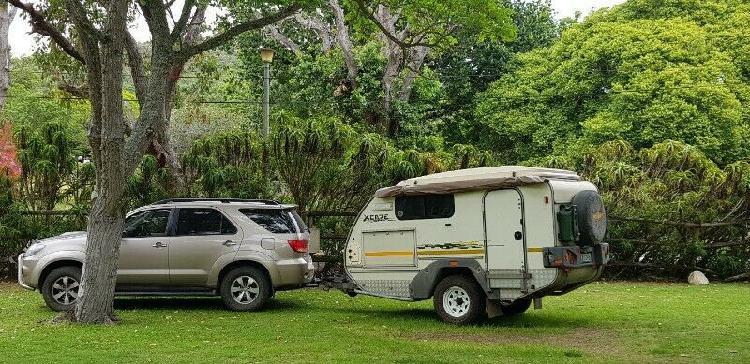 Jurgens xcape caravan 2009