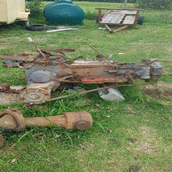 Massey ferguson 220 diff and gearbox 4x4