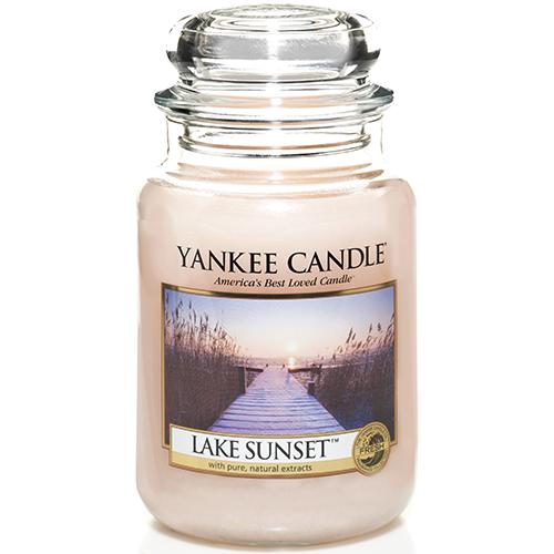 Yankee candle lake sunset large jar retail box no