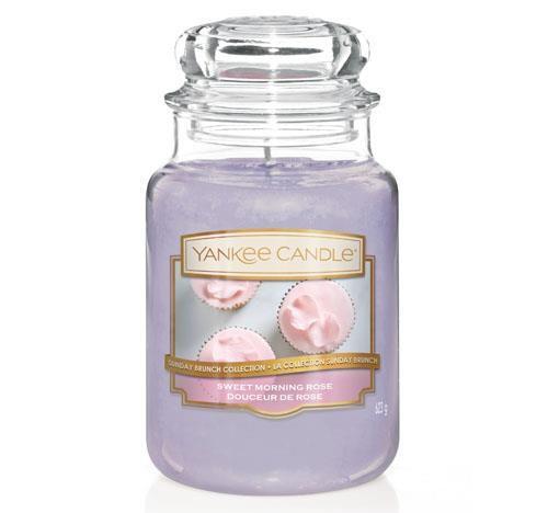 Yankee candle sweet morning rose large jar retail