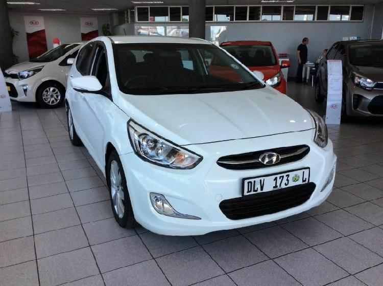 2016 hyundai accent 1.6 gls/fluid