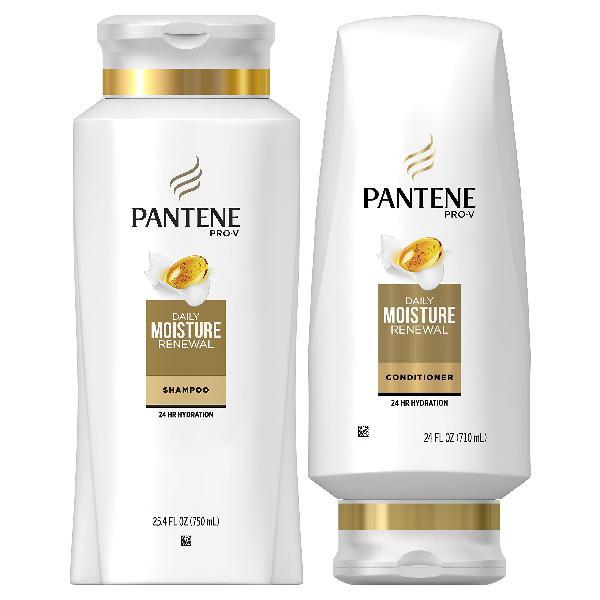 Pantene, Shampoo and Conditioner Kit, Pro-V Daily Moisture