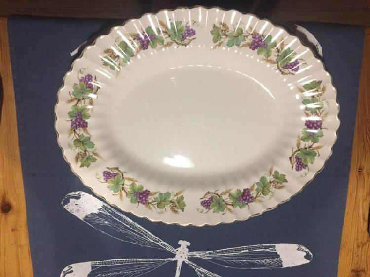 Platter -Meakin England - Classic White - Excellent