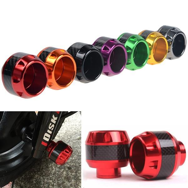 Cnc front fork cup motorcycle shock drop resistance for