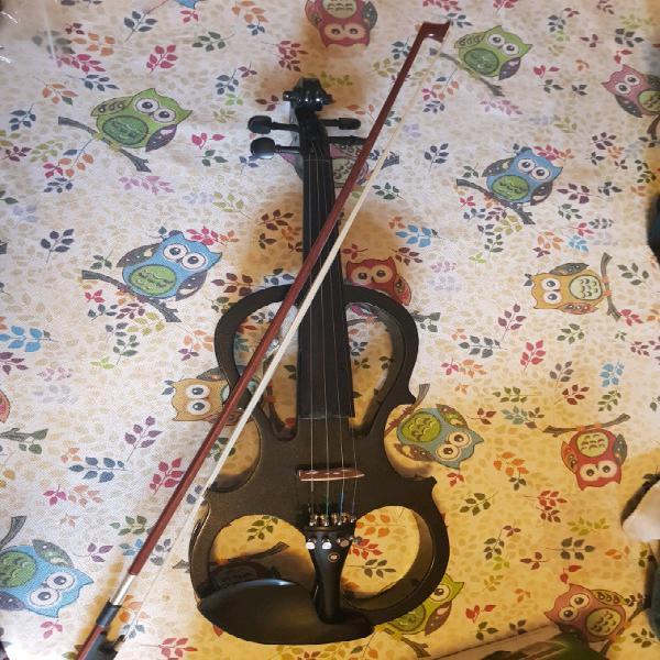 Cicelio electric violin - black (with case, bow,