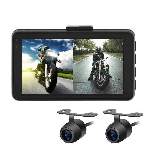 Mt22 1080p+720p motorcycle dvr video recorder camera dash