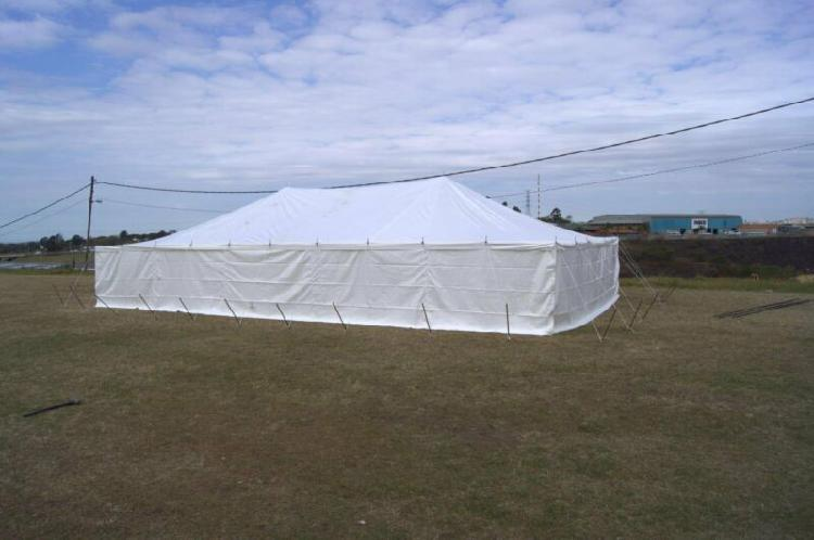 Tent clearance sale get a 7m x 12m peg and pole tent with