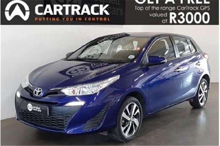 Toyota yaris hatch yaris 1.5 xs 5dr 2018