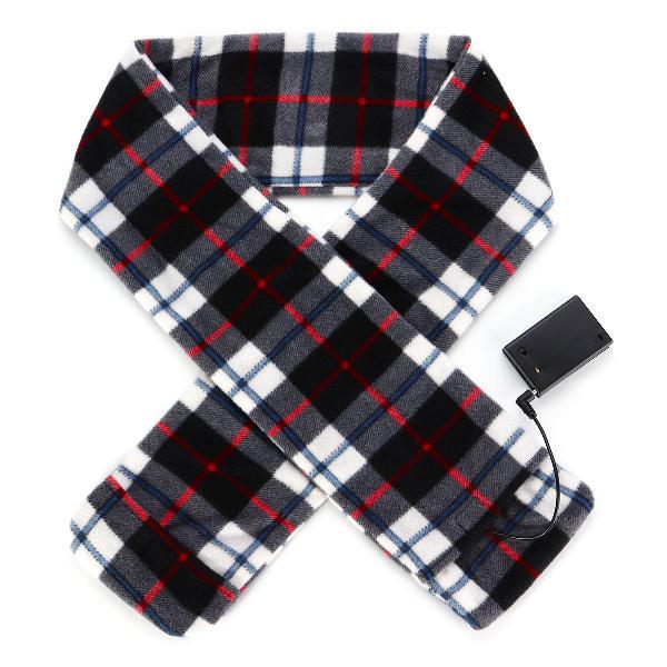 Winter heating electric warm scarf fleece long scarves