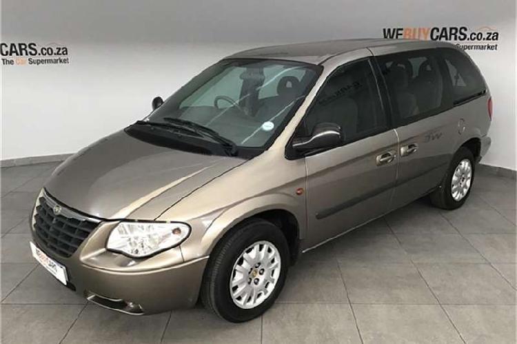 Chrysler voyager 2.4 se 2006