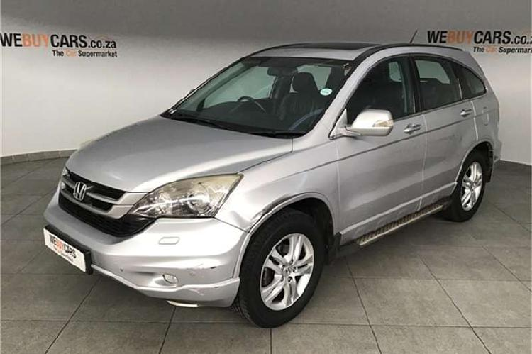 Honda cr-v 2.4 executive auto 2011