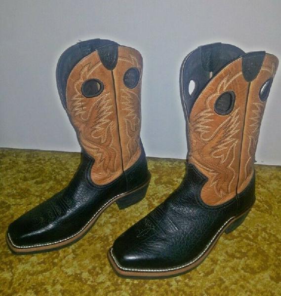 Mens cowboy boots - ariat heritage roughstock buckboard