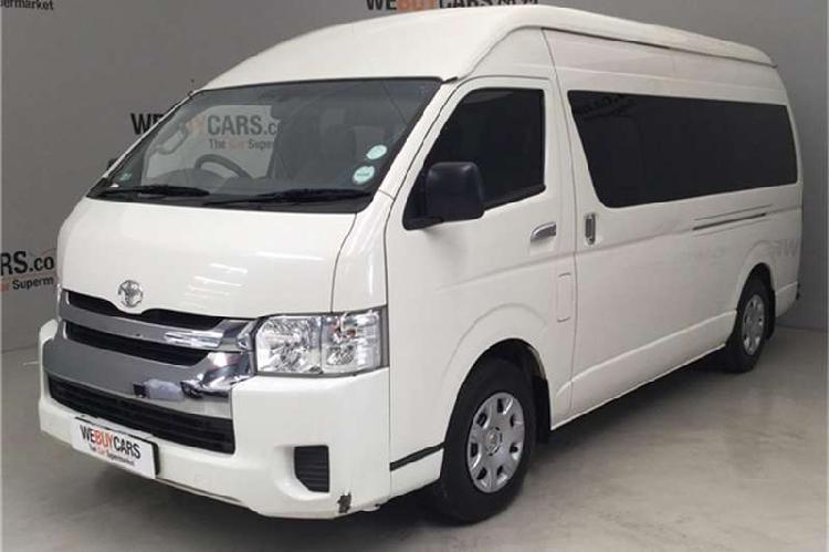 Toyota quantum 2.7 gl 14 seater bus 2015