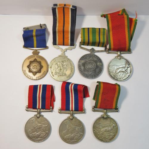Ww2 & police medal set - the simpson family