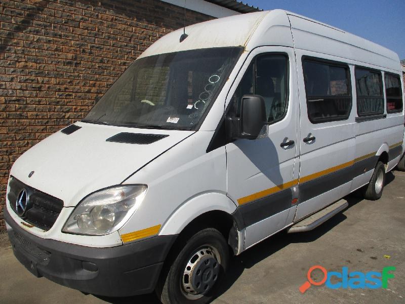 2010 mercedes sprinter 518 22 seater bus (non runner)