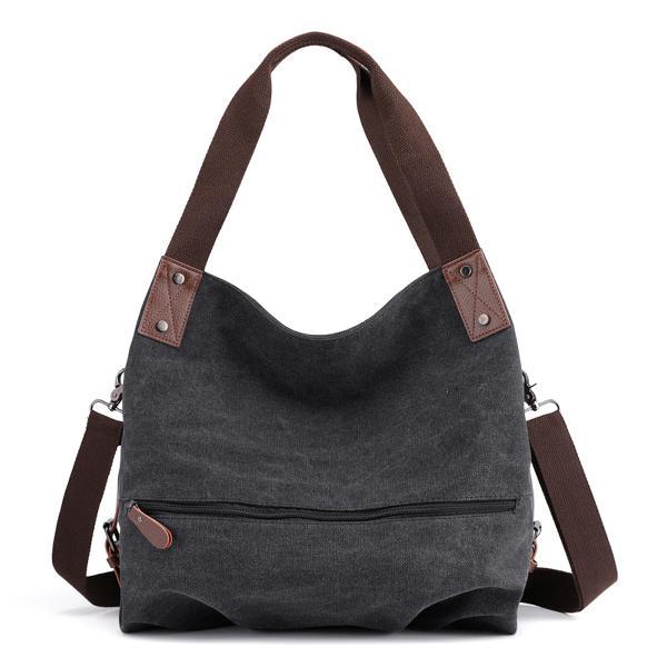 16L Women Canvas Handbag Tote Crossbody Messenger Shoulder