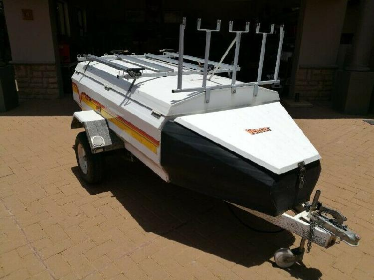 2003 venter trailer super 6 & bike caddy