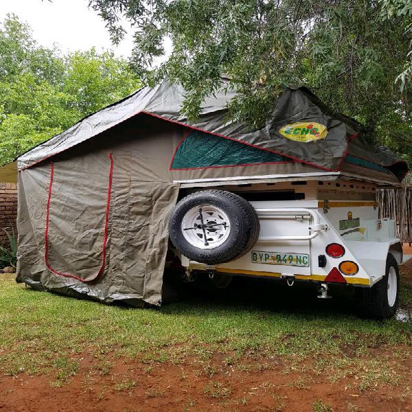 Challenger bundu basher wilderness trailer with echo 4x4