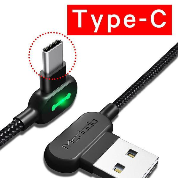 Fast charging usb cable for type-c mobile phones