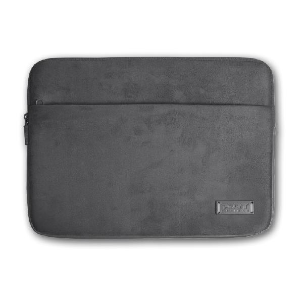Port designs milano 15.6' notebook sleeve grey
