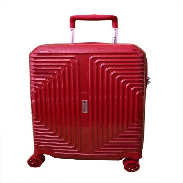 Travelite 63cm Geo Medium Check In | Red