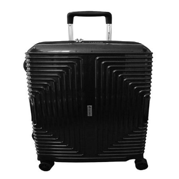 Travelite 63cm Geo Medium Check In | black