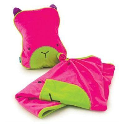 Trunki Snoozihedz Travel Pillow & Blanket (Pink)