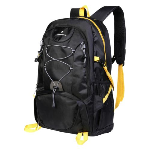 Volkano Clarence Series Backpack - 40L - Black /Yellow