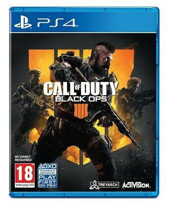 Wanted: call of duty black ops 4 for ps4