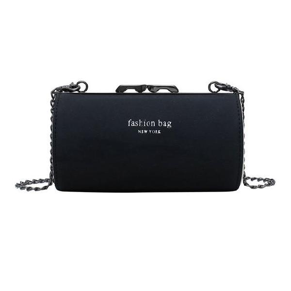 Women's fashion coin purse bead hasp bag letter casual bag