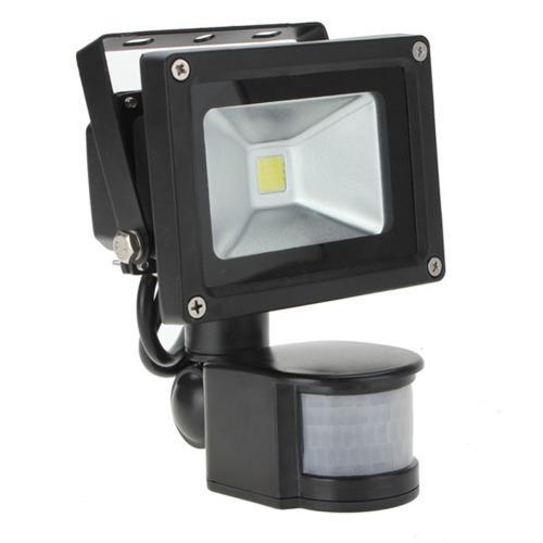 10w 220v led flood light led outdoor light with motion