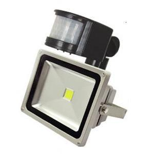 30w human montion sensor led reflector flood light high