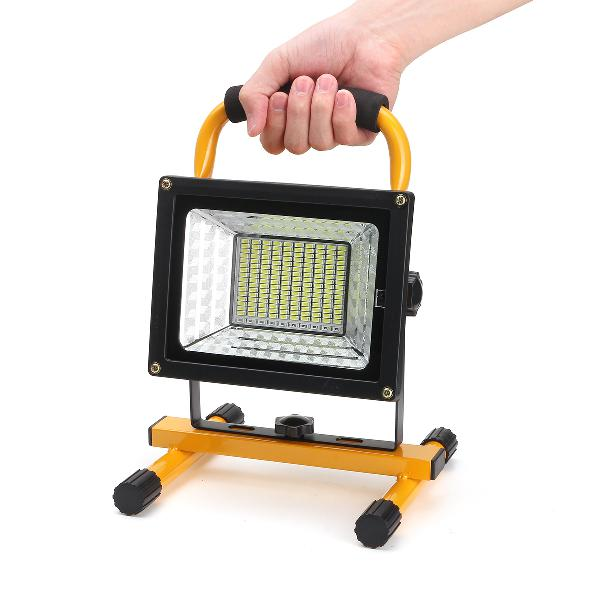 800w 170 led portable camping flood light rechargeable spot