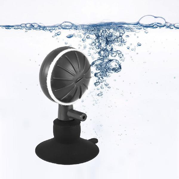 Adjustable bubble size aquarium oxygen bubble ball increaser