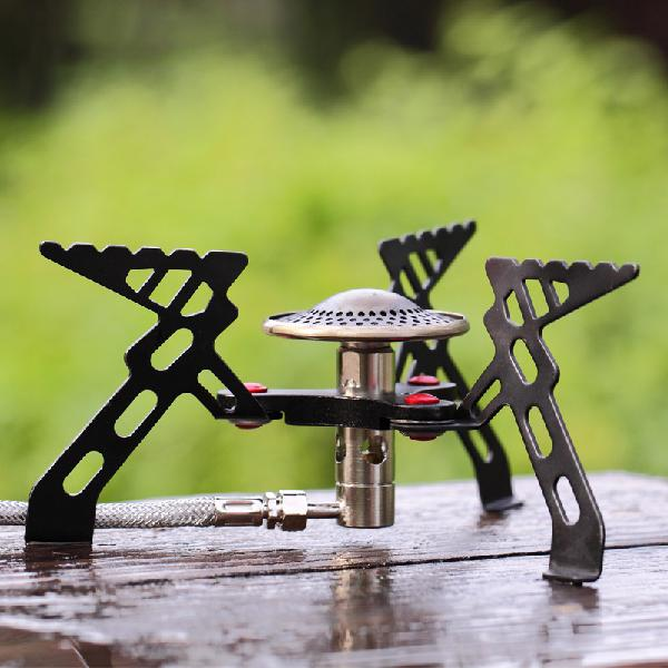 Alocs portable camping stove burner outdoor cooking gas