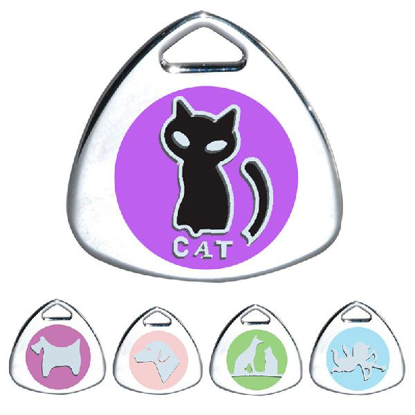 Cat tag personalized engraved dog id tags pet collar pendant