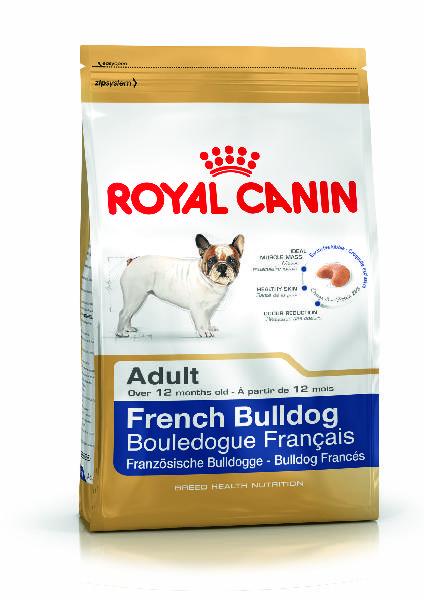 French bulldog adult - 3kg