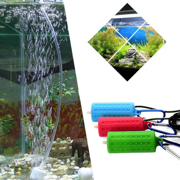 Portable mini usb aquarium fish tank oxygen air pump mute