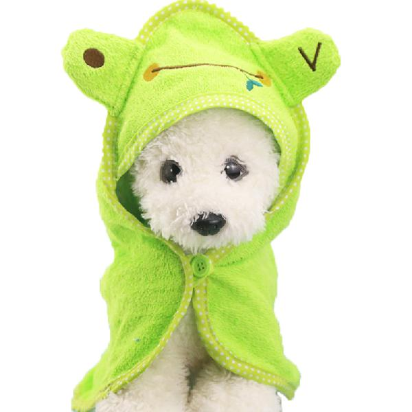 Puppy Dog Towel Drying Towel For Dogs Bathrobe Absorbent