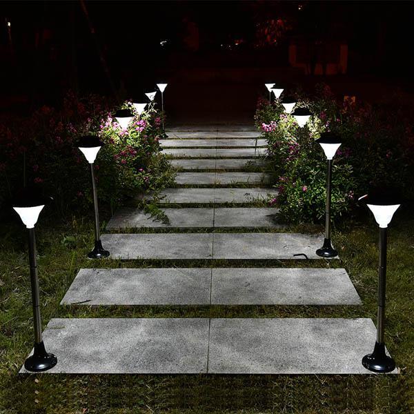 Solar led light outdoor courtyard garden lawn waterproof