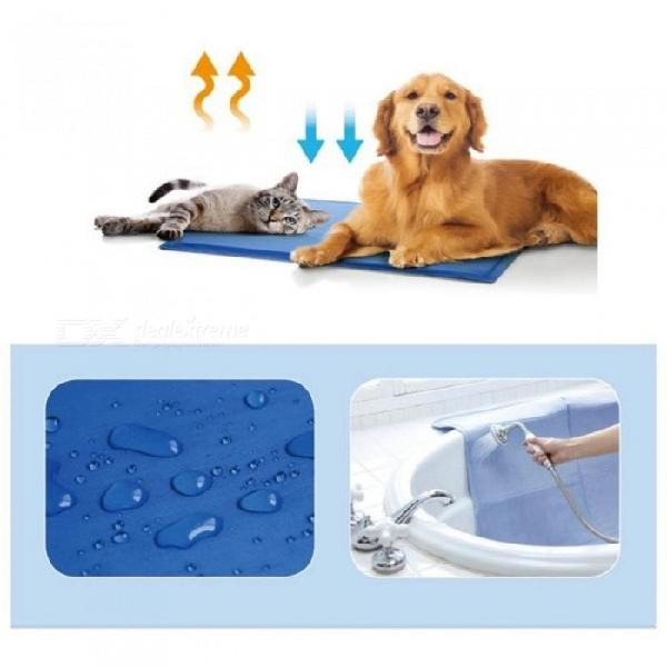 Summer pet mat dog puppy cat cool ice mat pad dog bed