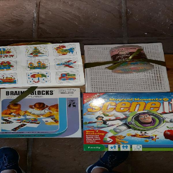 Assorted educational toys