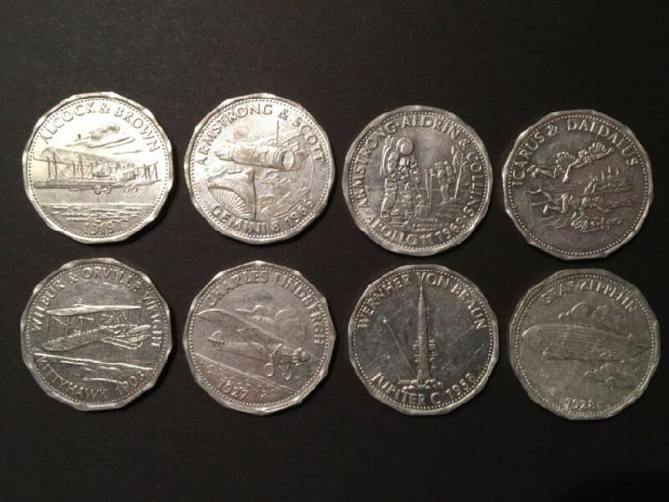 Shell commemorative game coins.