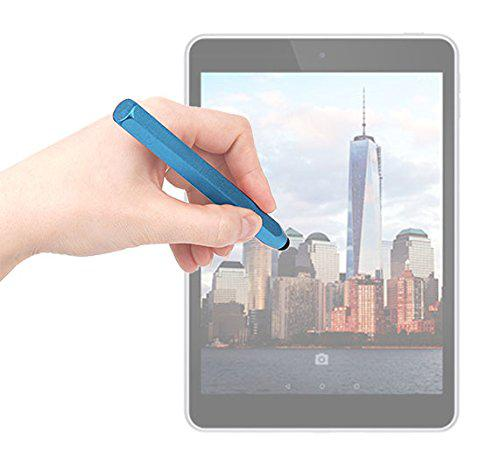 Duragadget blue aluminium 'crayon' style touchscreen stylus