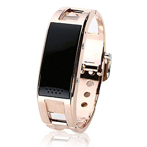 Gloriest local tyrants gold fashion smart bracelet bluetooth